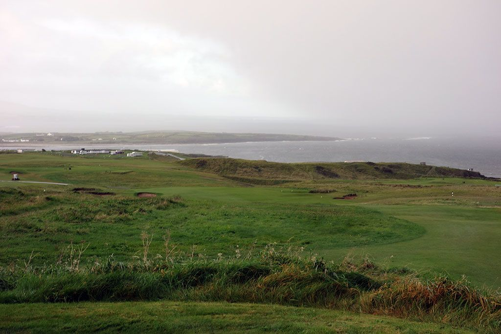3rd Hole at County Sligo Golf Club aka Rosses Point (591 Yard Par 5)