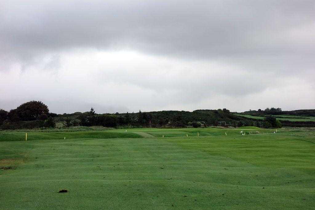 7th Hole at County Sligo at Rosses Point (414 Yard Par 4)