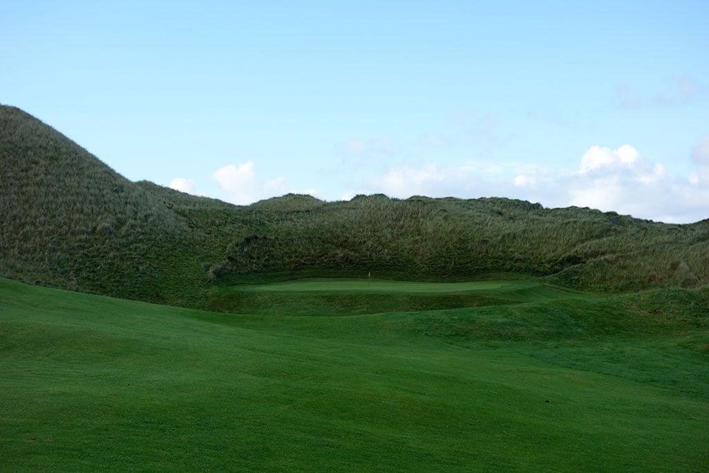 12th Hole at Enniscrone Golf Club (345 Yard Par 4)