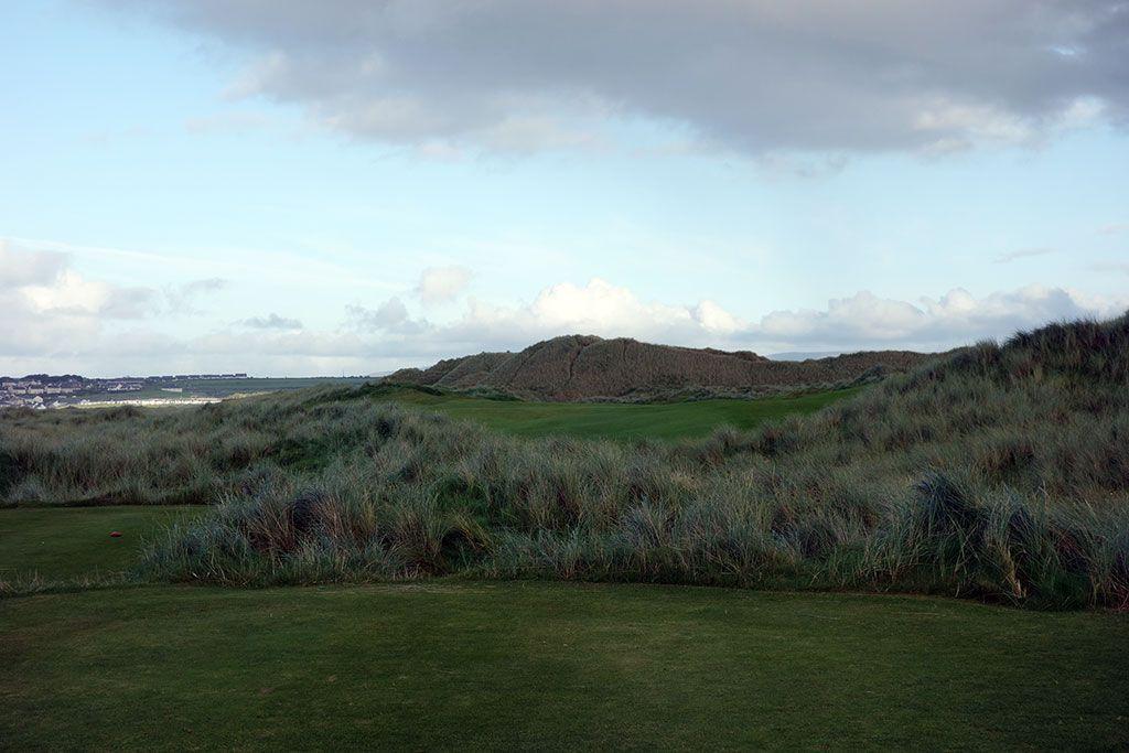 15th Hole at Enniscrone Golf Club (421 Yard Par 4)