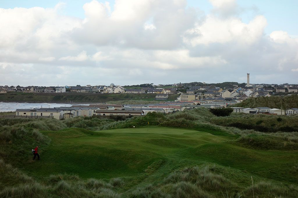 17th Hole at Enniscrone Golf Club (149 Yard Par 3)
