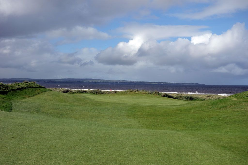 2nd Hole at Enniscrone Golf Club (556 Yard Par 5)