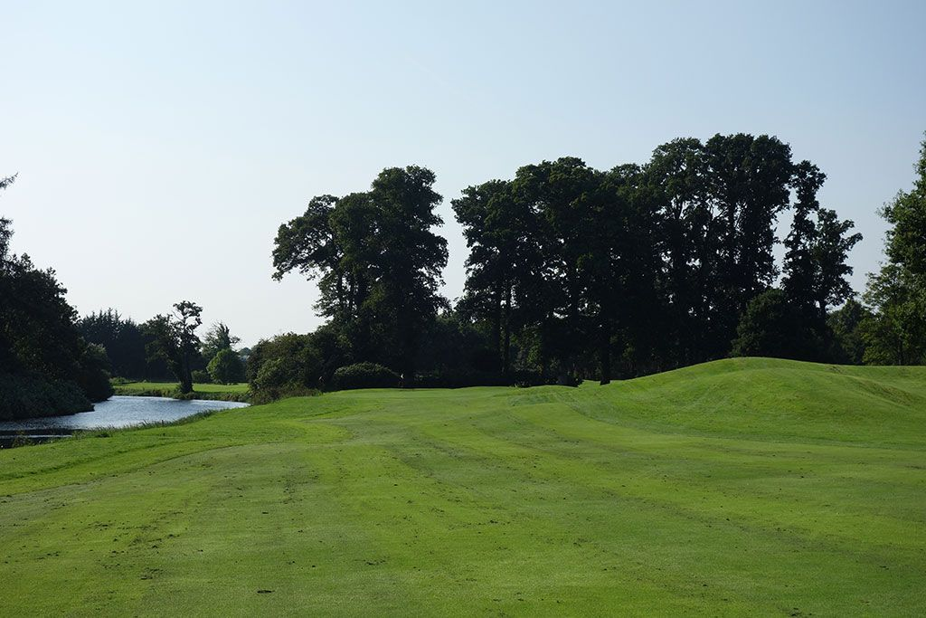 17th Hole at The K Club (424 Yard Par 4)