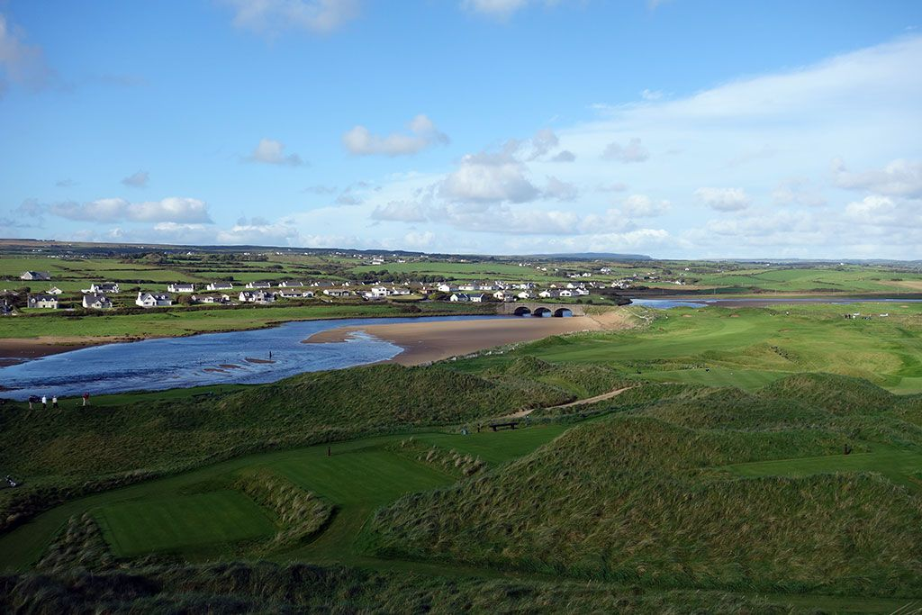 12th Hole at Lahinch Golf Club (Old) (577 Yard Par 5)
