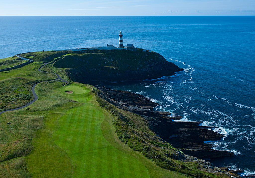 17th Hole at Old Head Golf Links (623 Yard Par 5)
