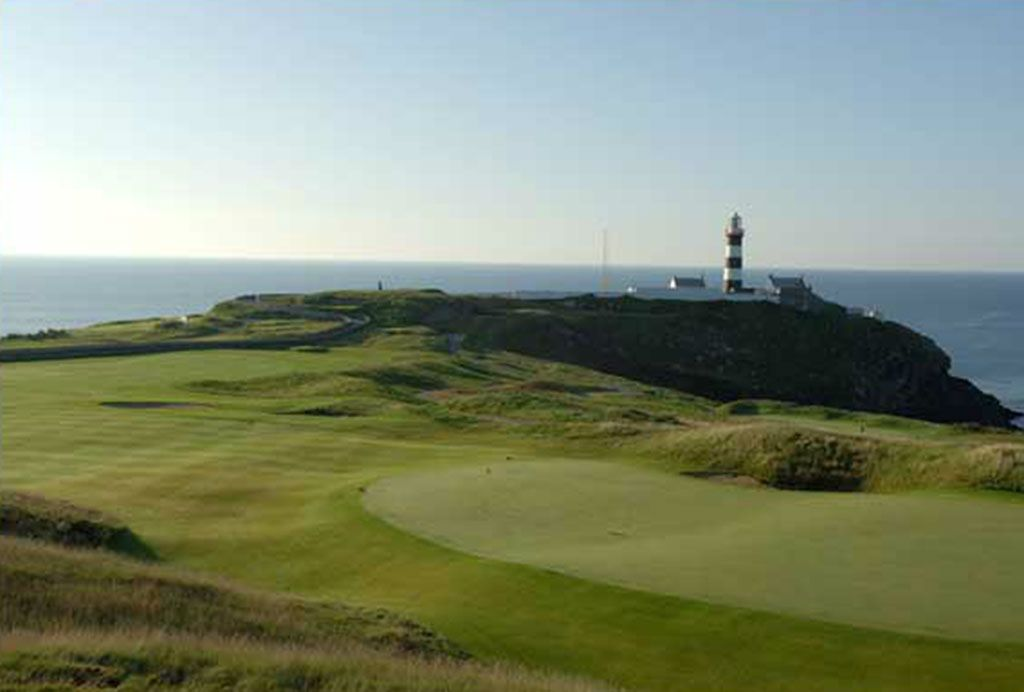 18th Hole at Old Head Golf Links (434 Yard Par 4)