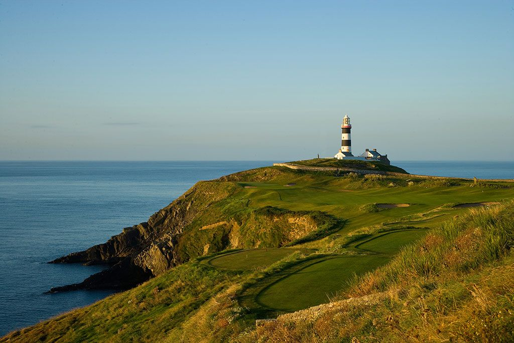 4th Hole at Old Head Golf Links (427 Yard Par 4)