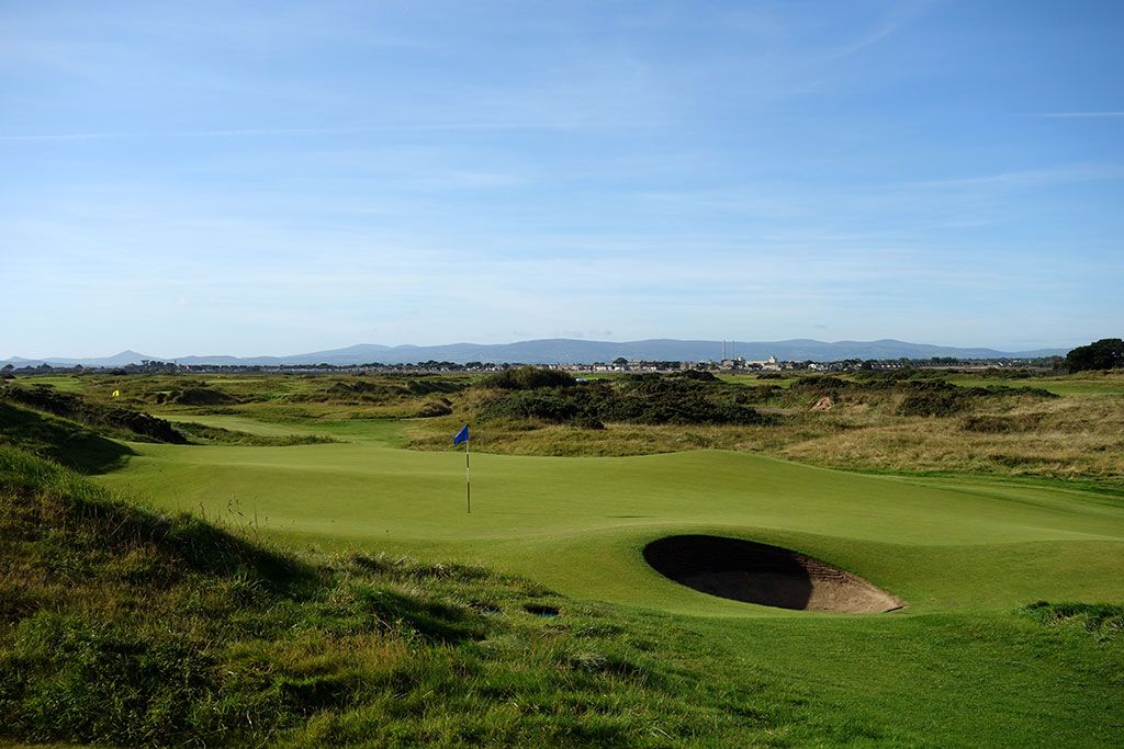 12th Hole at Portmarnock Golf Club (177 Yard Par 3)