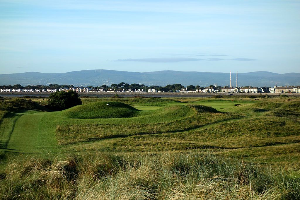 The 5th hole at Portmarnock Golf Club