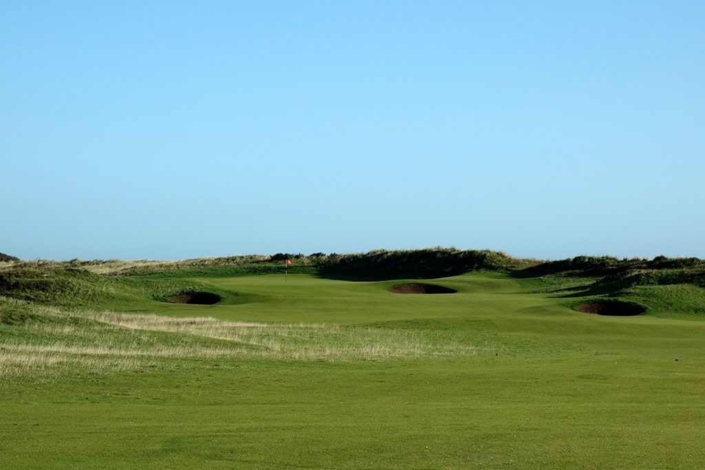 6th Hole at Portmarnock Golf Club (Championship/Old) (603 Yard Par 5)