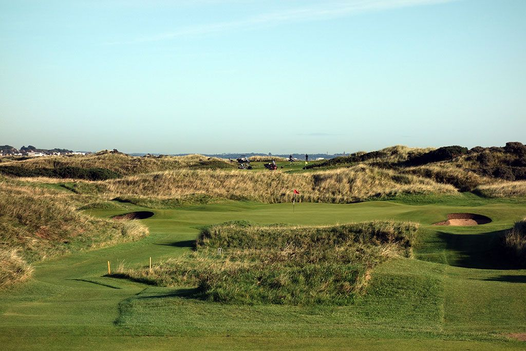 7th Hole at Portmarnock Golf Club (Championship/Old) (184 Yard Par 3)