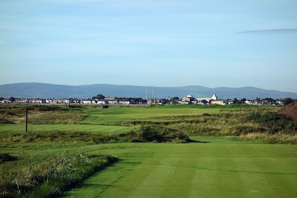 8th Hole at Portmarnock Golf Club (427 Yard Par 4)