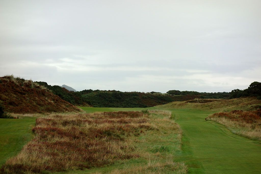 13th Hole at Royal County Down (Championship Links) (446 Yard Par 4)