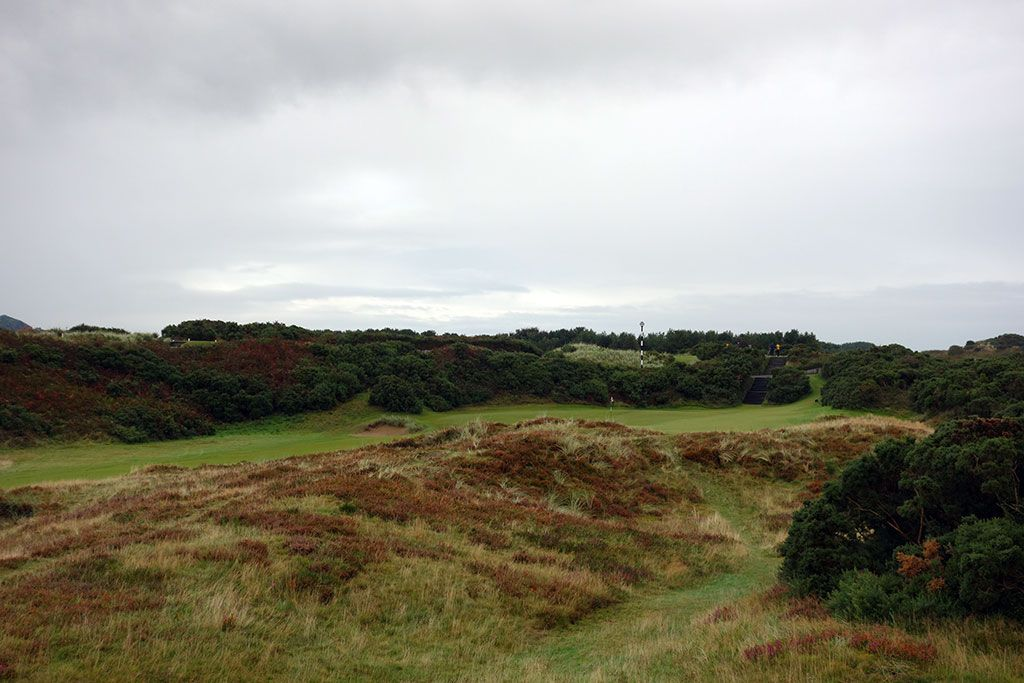 13th Hole at Royal County Down (446 Yard Par 4)