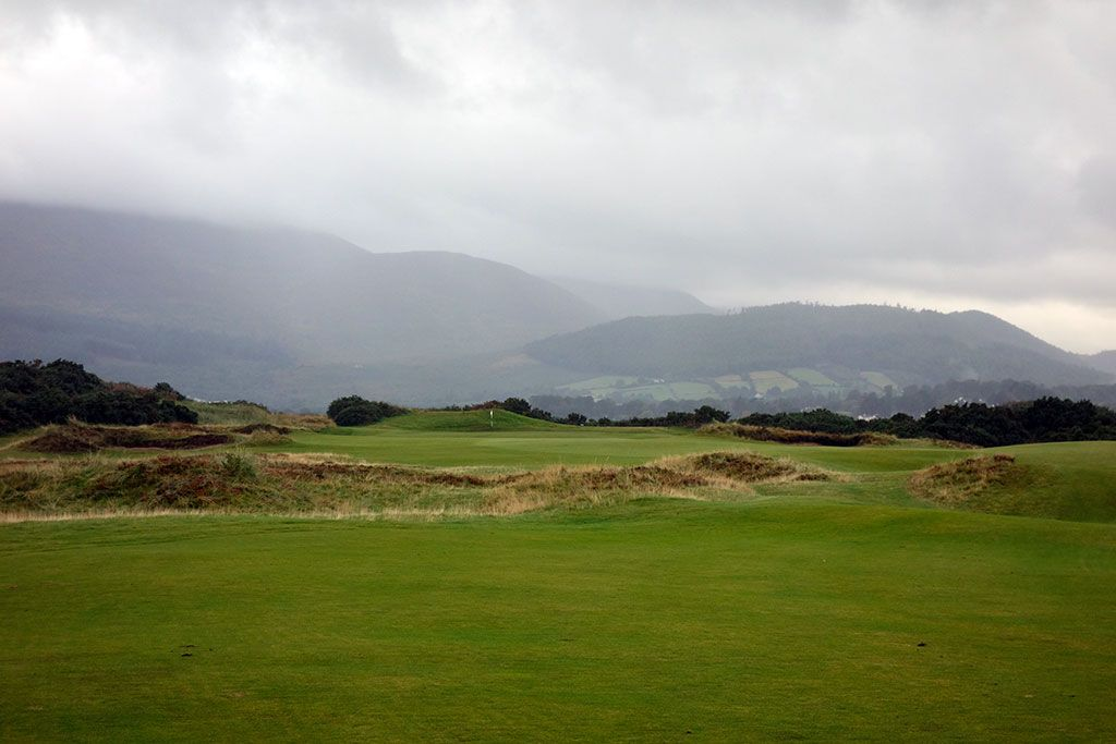 15th Hole at Royal County Down (Championship Links) (468 Yard Par 4)