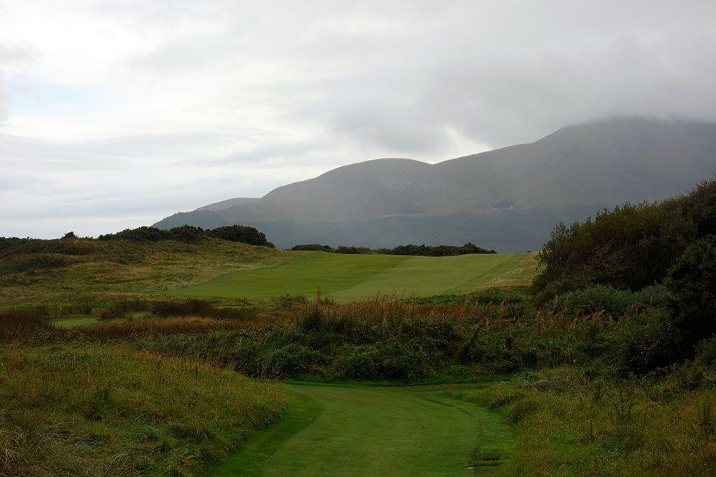 15th Hole at Royal County Down (468 Yard Par 4)