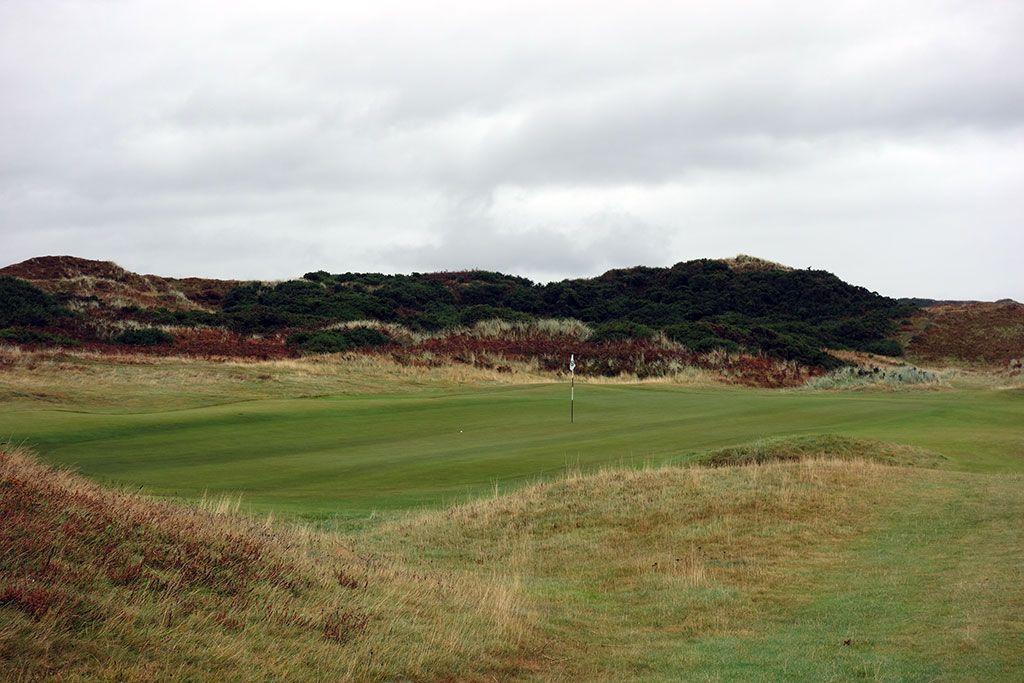 1st Hole at Royal County Down (Championship Links) (539 Yard Par 5)