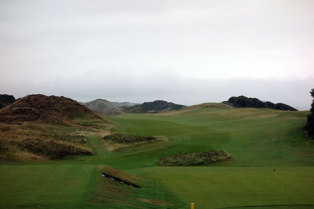1st Hole at Royal County Down (Championship Links) (539 Yard Par 5)