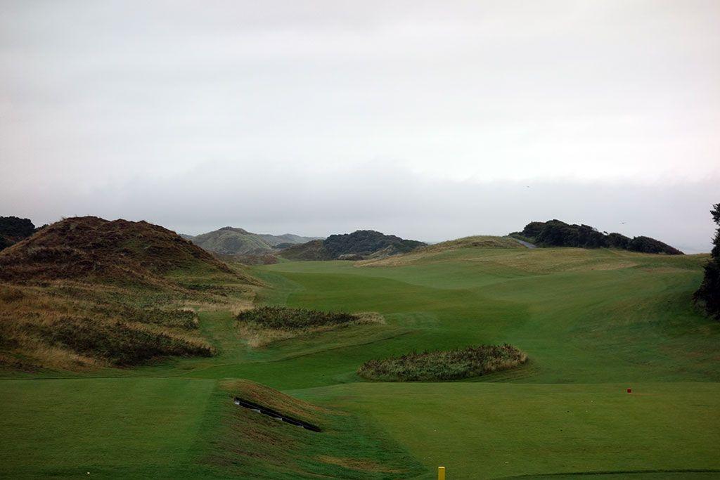 1st Hole at Royal County Down (539 Yard Par 5)