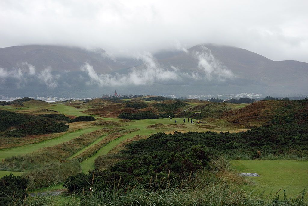 4th Hole at Royal County Down (Championship Links) (229 Yard Par 3)