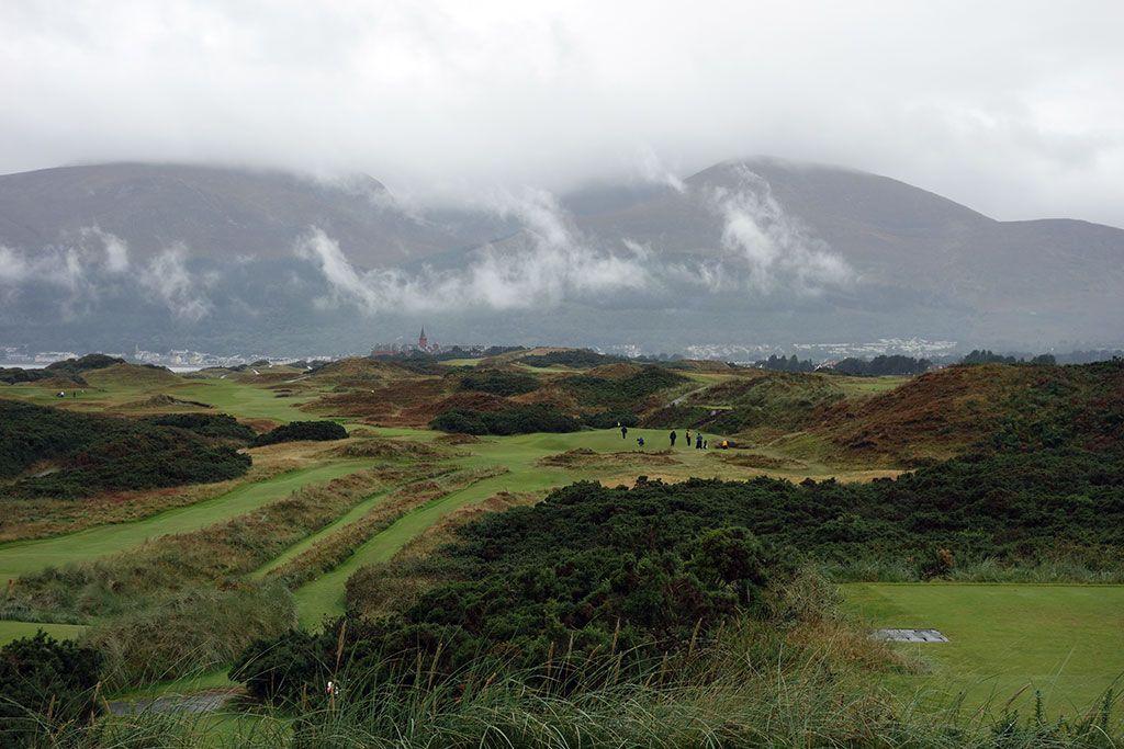 4th Hole at Royal County Down (Championship Links) (229 Yard Par 3)