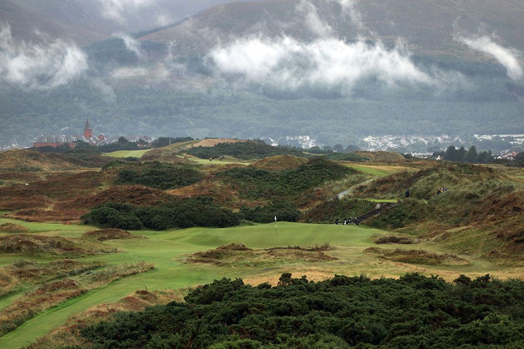 4th Hole at Royal County Down