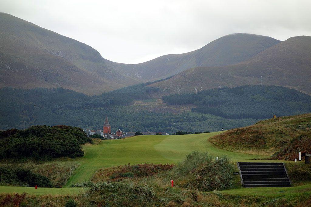 9th Hole at Royal County Down (Championship Links) (483 Yard Par 4)