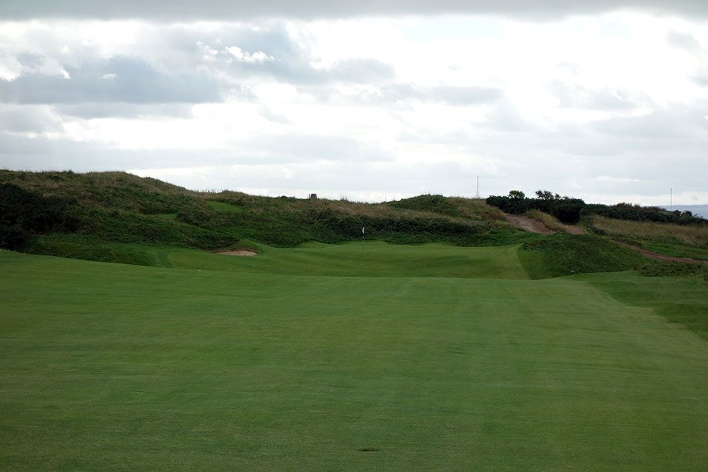11th Hole at Royal Portrush Golf Club (Dunluce) (475 Yard Par 5)