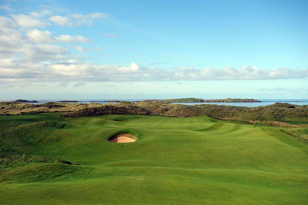 15th Hole at Royal Portrush Golf Club (Dunluce) (418 Yard Par 4)