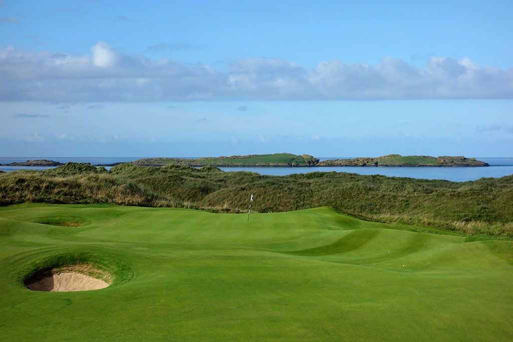 15th Hole at Royal Portrush Golf Club (Dunluce) (418 Yard Par 4)