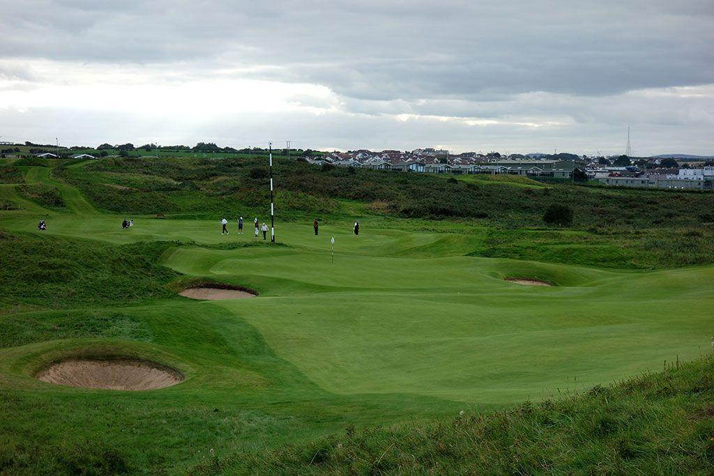 11th Hole at Royal Portrush Golf Club (Dunluce) (475 Yard Par 5)