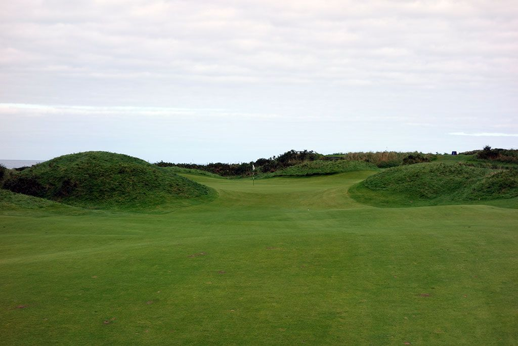 4th Hole at Royal Portrush Golf Club (Dunluce) (479 Yard Par 4)