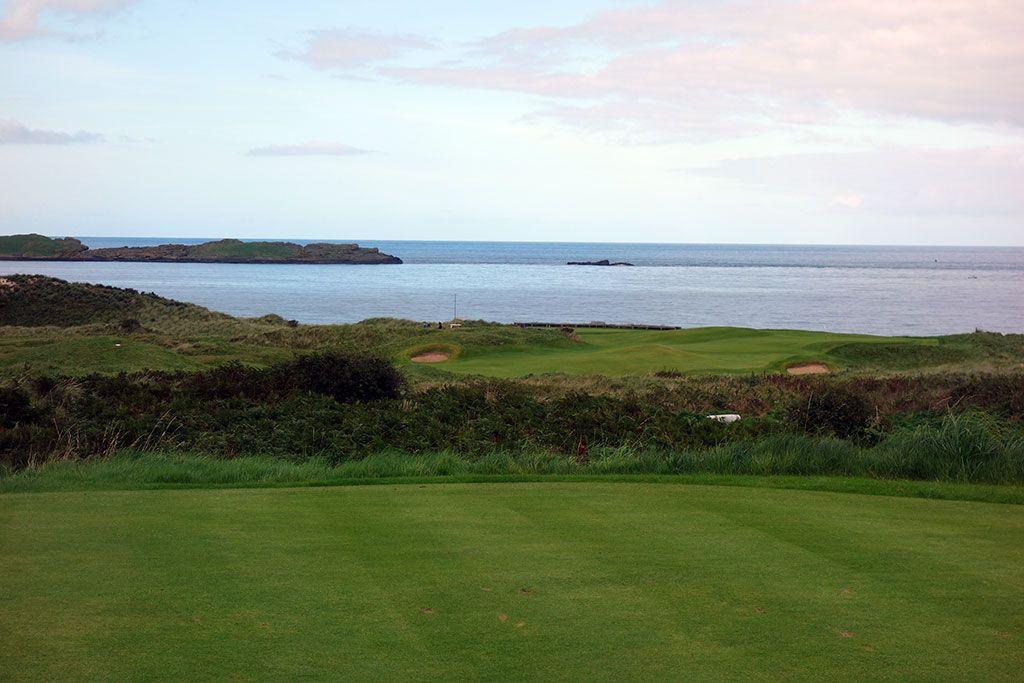 5th Hole at Royal Portrush Golf Club (Dunluce) (411 Yard Par 4)