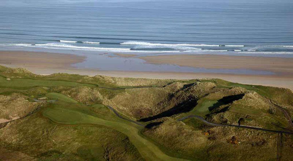 12th Hole at Tralee Golf Club (461 Yard Par 4)