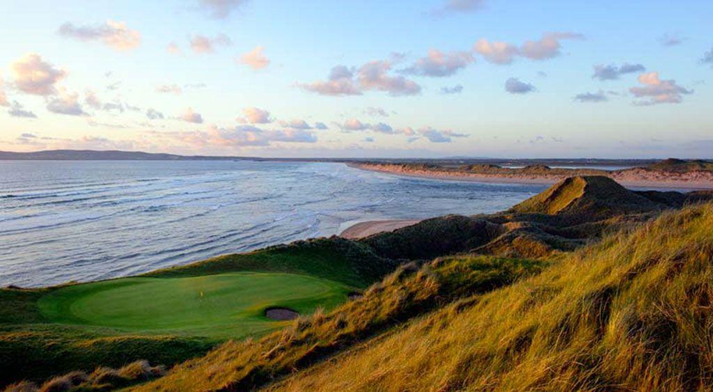 16th Hole at Tralee Golf Club (199 Yard Par 3)