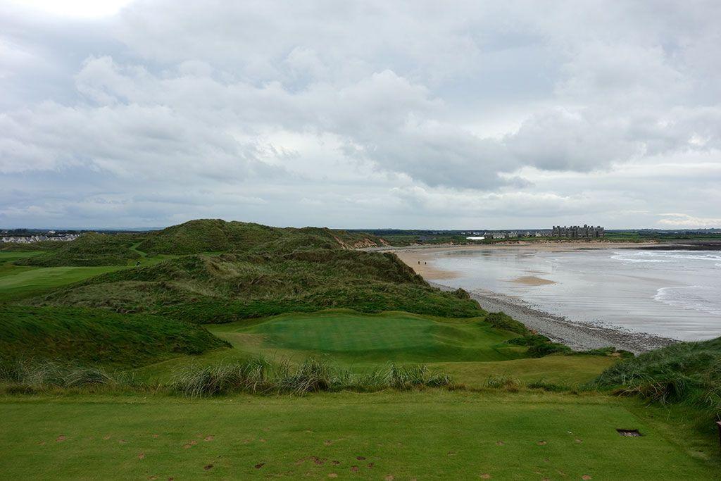 14th Hole at Trump International Golf Links Doonbeg (138 Yard Par 3)