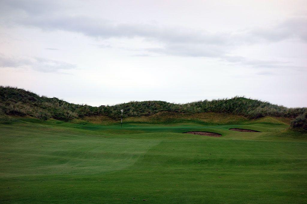 3rd Hole at Trump International Golf Links Doonbeg (338 Yard Par 4)
