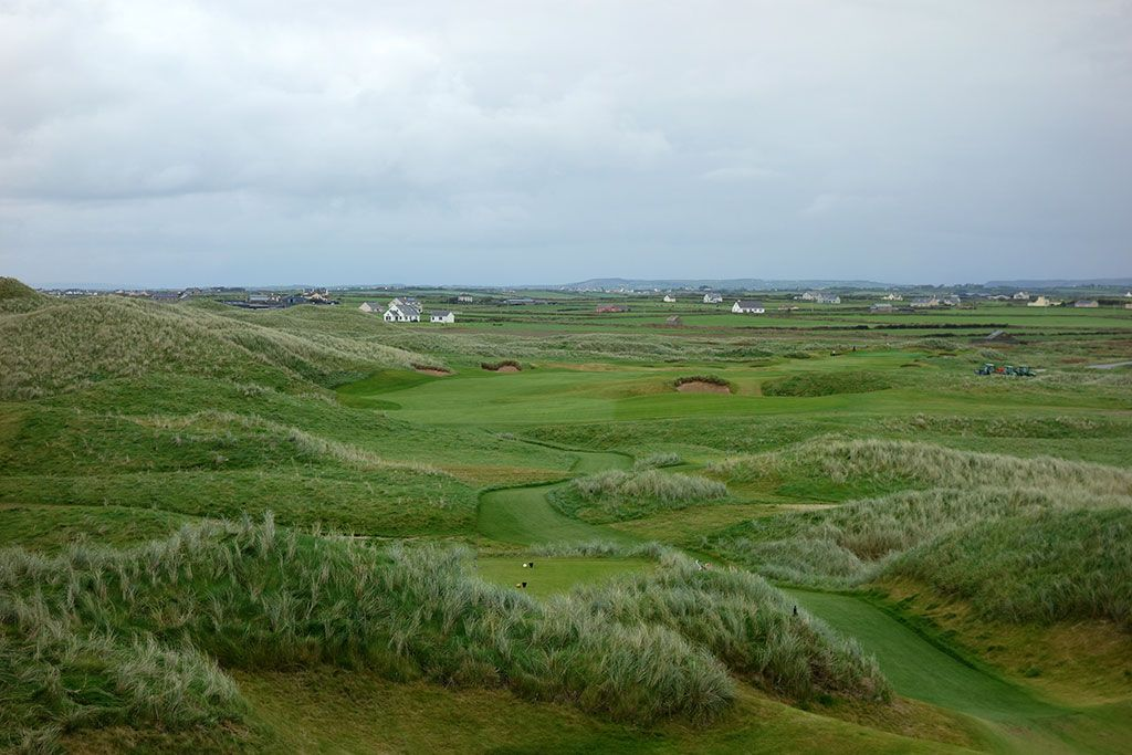 4th Hole at Trump International Golf Links Doonbeg (659 Yard Par 5)