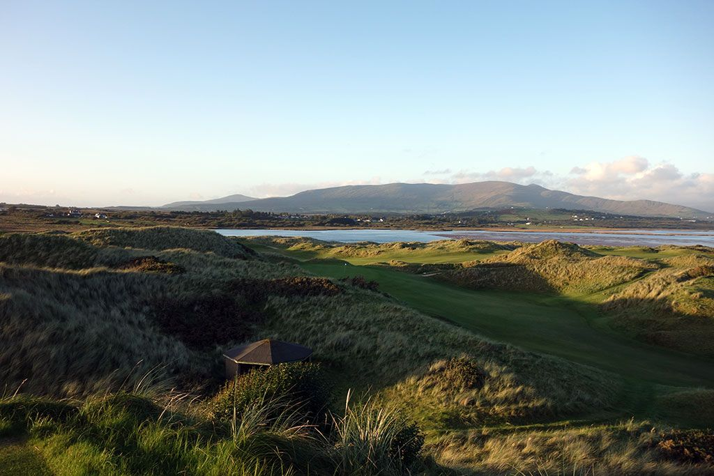 11th Hole at Waterville Golf Links (506 Yard Par 5)