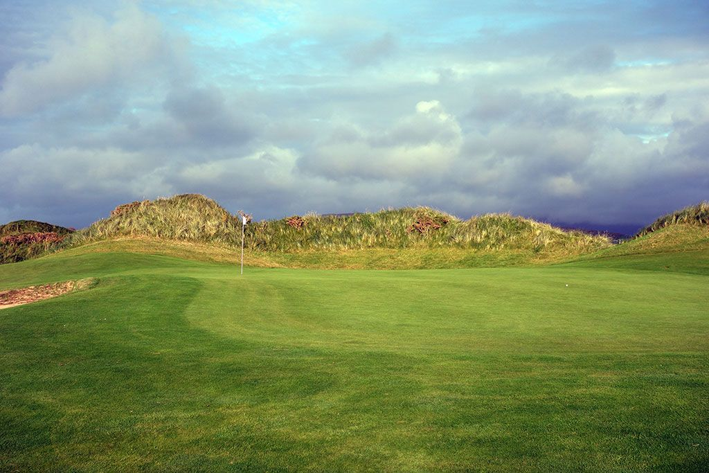 13th Hole at Waterville Golf Links (504 Yard Par 5)