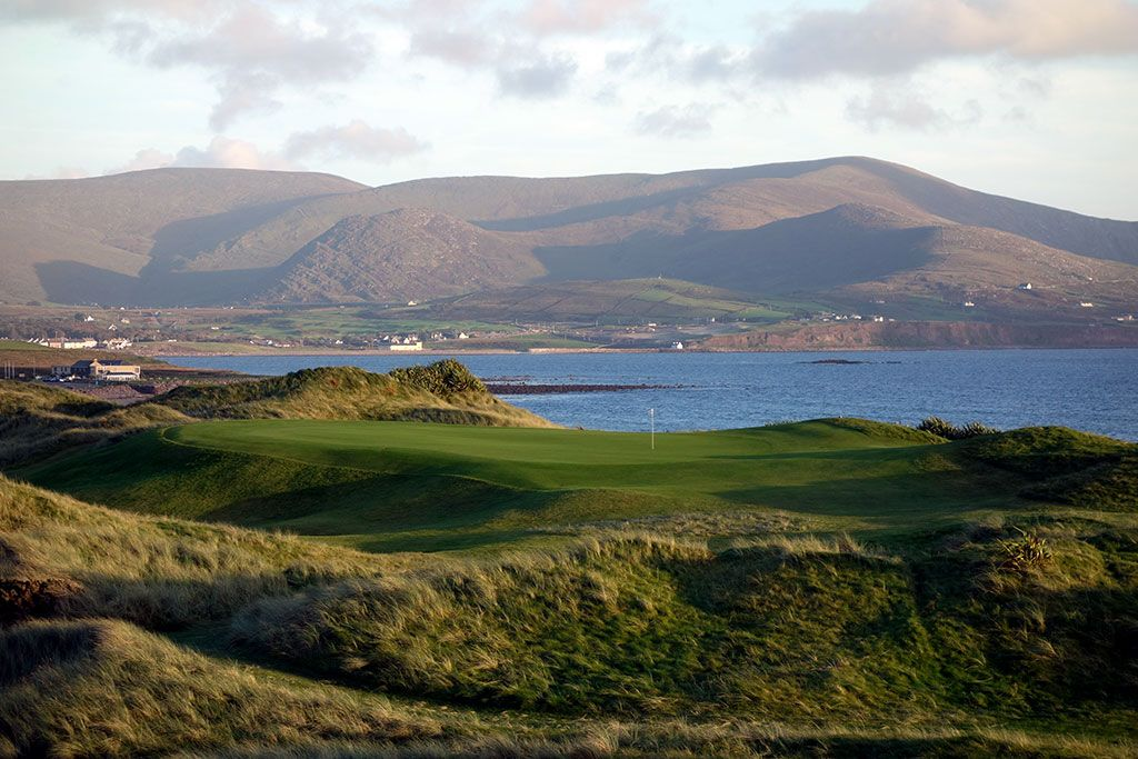 17th Hole at Waterville Golf Links (194 Yard Par 3)