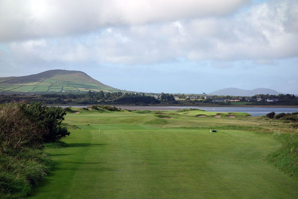 2nd Hole at Waterville Golf Links (464 Yard Par 4)