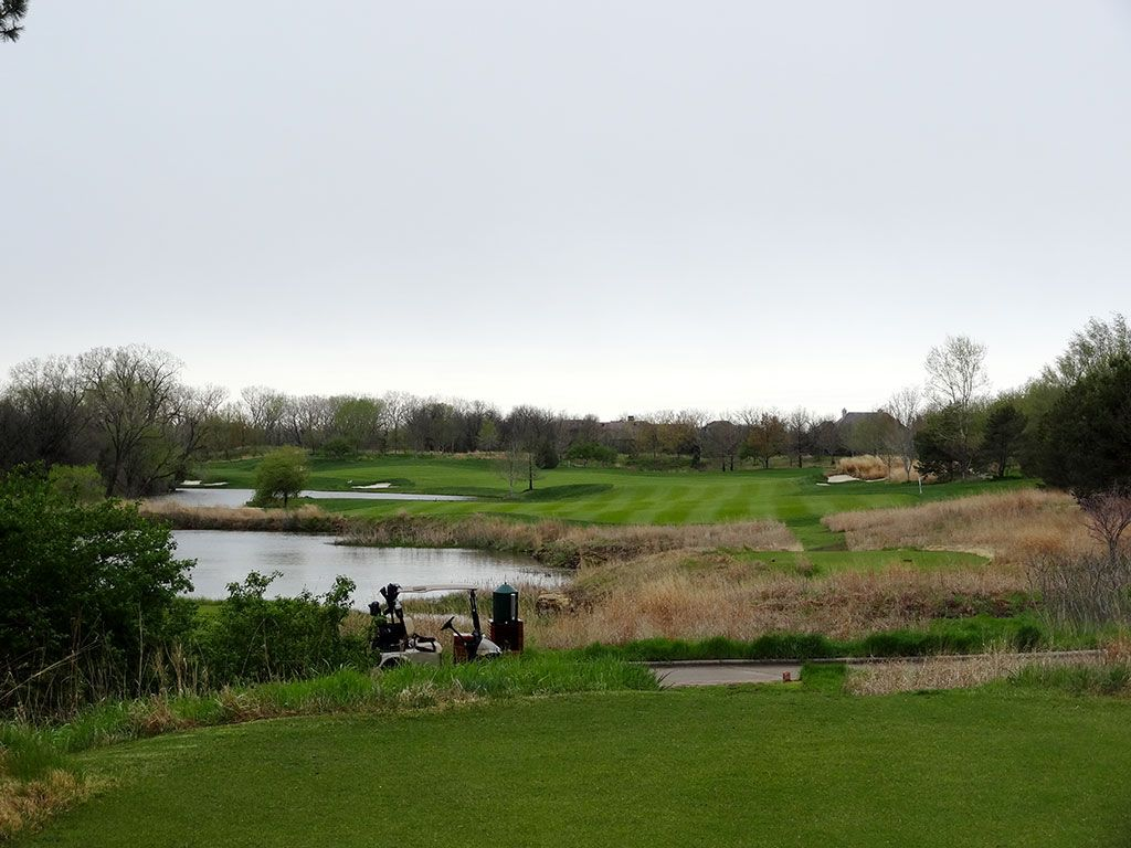 11th Hole at Flint Hills National Golf Club (531 Yard Par 5)
