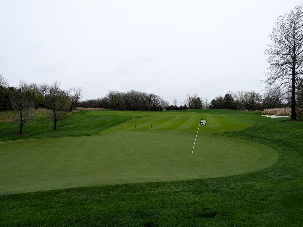 6th Hole at Flint Hills National Golf Club (336 Yard Par 4)