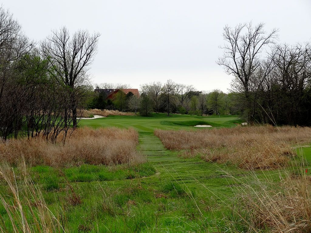 6th Hole at Flint Hills National (336 Yard Par 4)