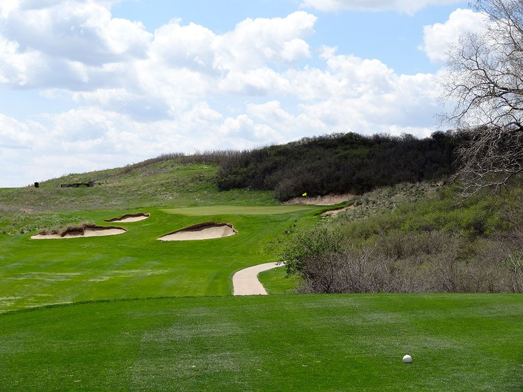 2nd Hole at Prairie Dunes Country Club (161 Yard Par 3)