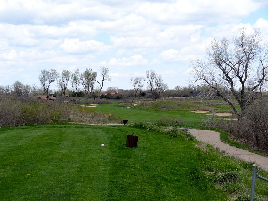 3rd Hole at Prairie Dunes Country Club (355 Yard Par 4)