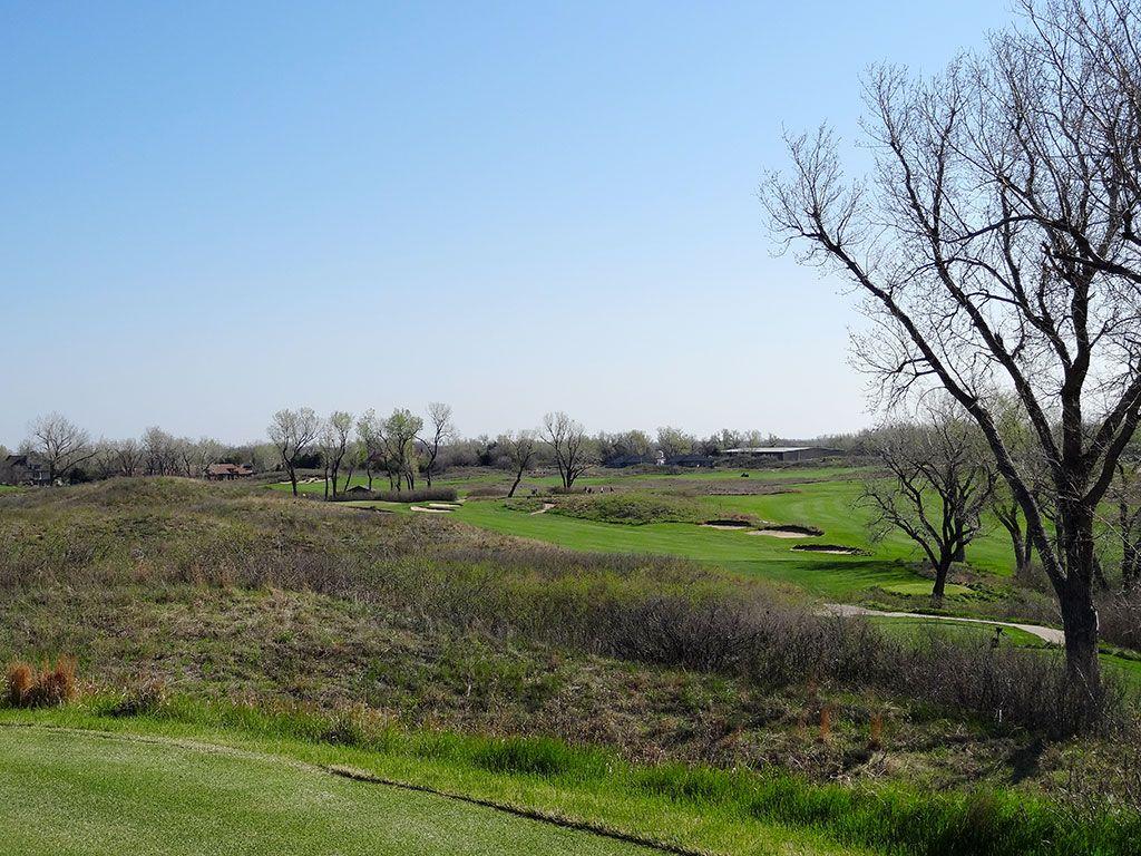 3rd Hole at Prairie Dunes Country Club (355 Yard Par 4)
