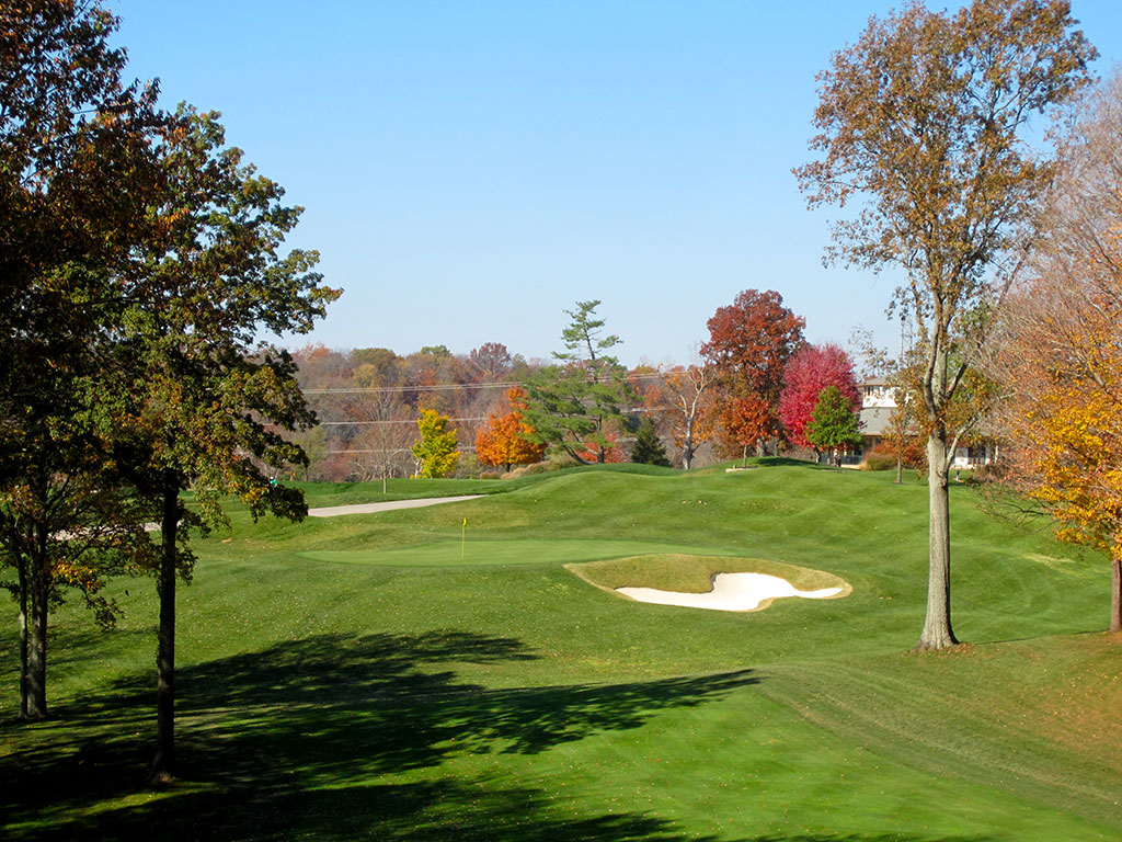12th Hole at Valhalla Golf Club (470 Yard Par 4)