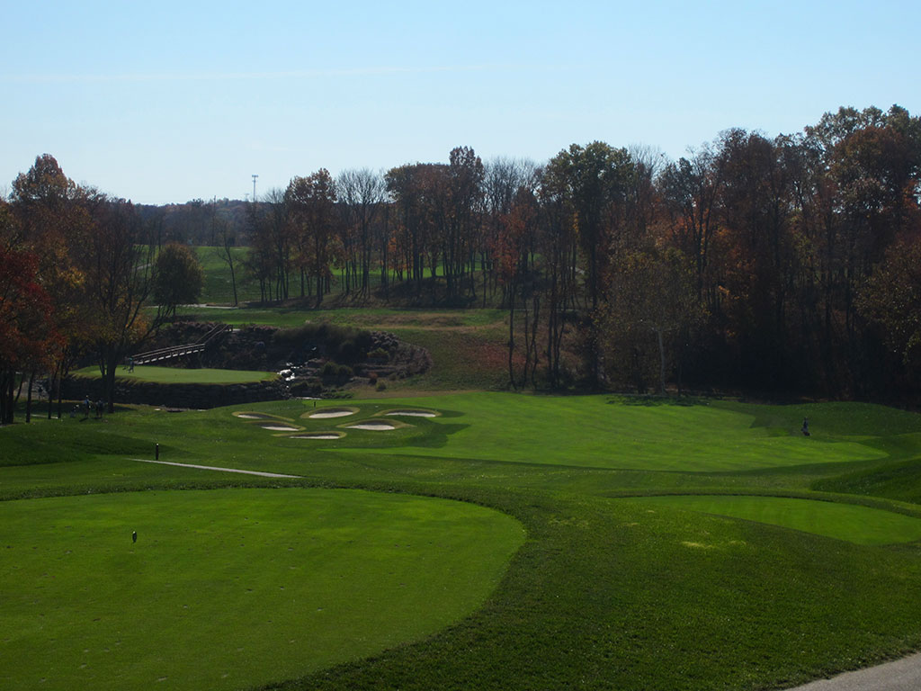 13th Hole at Valhalla Golf Club (355 Yard Par 4)